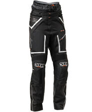 LINDSTRANDS Q PANTS BLACK WATERPROOF MOTORCYCLE MOTORBIKE ADVENTURE TROUSERS