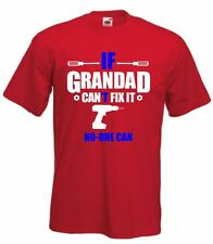 If Grandad Can't Fix It T-Shirt, Funny Grandad T Shirt Fathers Day TShirt, Dad