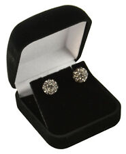 3 x Luxury Velvet Earring Boxes - Colour Choice - Free Delivery (VV04)