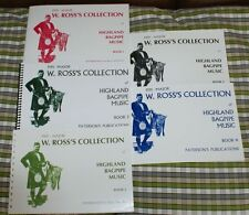 ROSS COLLECTION of Highland Bagpipe Music Tunes pipes choice of volumes 1 to 5