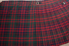 Men's Highland Kilt Macdonald Tartan 8 Yard/Scottish Kilt8 Yard Macdonald Tartan