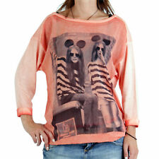 DECAY Premium Collection Damen Shirt Mickey Apricot MD462