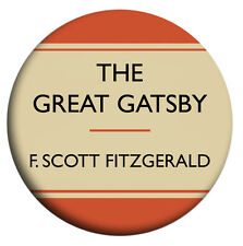 The Great Gatsby, F Scott Fitzgerald, Badges, Mirror, Magnet, Bottle Opener,
