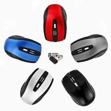 2.4GHz Wireless Ottica USB Mouse + usb Receiver for Laptop PC Computer AN18