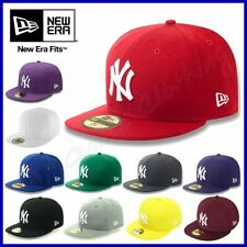 NEW ERA Hut NEW YORK YANKEES Cap 59FIFTY Hat BASEBALL Skate LOGO NY Neu