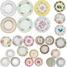 Vintage Luxury Party Paper Plates Disposable Birthday Wedding Party Tableware