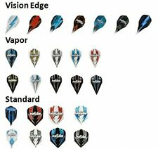 3 Sets of Phil Taylor Dart Flights by Target - Edge, Vapor and Standard Shapes