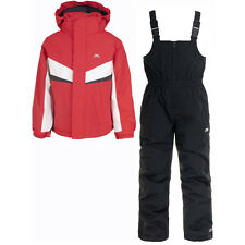 Trespass Boys & Girls Chamonix Ski Set Waterproof Breathable Jacket Pant
