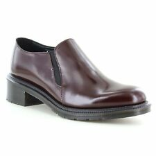 Dr Martens Rosyna Womens Leather Slip-On Shoes - Oxblood