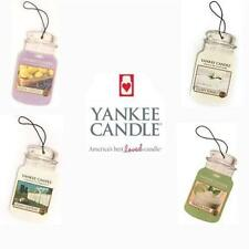 Yankee Candle Car Jar 2D Cardboard Air Freshener 2D - All Fragrances FREE P&P