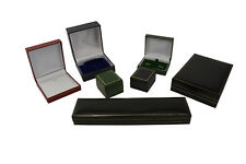High Quality Leatherette Jewellery Box Shop Presentation Packaging Colour choice