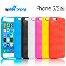 Funda para Apple iPhone 5/5S gel silicona flexible - Alta absorcion de impactos