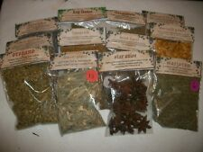 Herbs For Witchcraft, Pagan, Occult, Spells, Magic,Voodoo, Hoodoo, Wicca Ritual