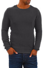 Selected Herren Strickpullover Pullover Men Jumper Sweater Strick Grey - 50% WOW