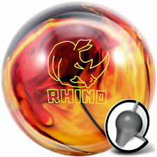 Bowling Ball Brunswick Rhino Red Black Gold Pearl 10-16 lbs, Reaktiv, Strikeball