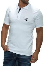 NEU Selected Herren Poloshirt Men Polo Shirt Basic White Weiß