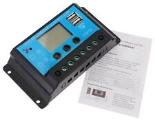 10Amp / 20Amp 12V/24V Solar Panel Charge Controller Battery Regulator Dual USB