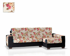 Cubre Chaise Longue Ginger Rojo- Brazo Derecho