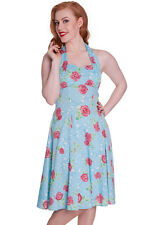 Retro Dress 1950s vintage style Rockabilly Pin Up Dress 8 10 12 bridesmaid dress