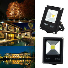 10W 20W IP65 LED FARO FARETTO A LED ULTRA SLIM LUCE CALDA FREDDA RGB ESTERNO