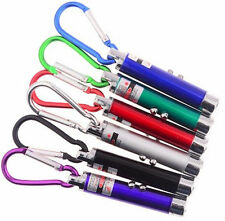 PUNTATORE LASER PEN 3 in 1, LED TORCIA, UV, LAZER, KEYCHAIN, CAT TOY COLORS