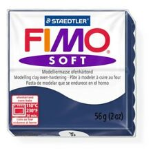 Staedtler Fimo Soft Windsor Blue (35) Oven Bake Modelling Clay Mould Block 56g