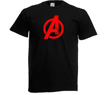THE AVENGERS T-Shirt, also in adult sizes GLOW IN THE DARK- MARVEL HEROES