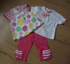 BNWT Baby Girls Clothes 0-3/3-6 Mths ROCKABYE White Pink Tunic Top & Trouser Set