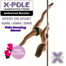 OFFICIAL XPOLE Portable Professional Dancing Pole - XPERT / SPORT- FREE GLOVES