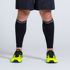 Zero Point Compression Performance Calf Sleeves (Deep Black)