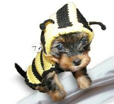 Bee Dog Costume dog jumper sweater hoodie puppy pet clothes X Smal Medium Large