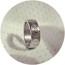 Suriname 100 Cent Coin Ring, Various Sizes