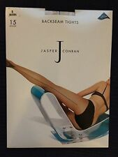 Jasper Conran Back Seam Tights - Natural - Small - 15 Denier - With Lycra