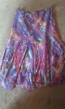 Ladies skirt Per Una Marks & Spencer size 18 L bnwot summer calf length