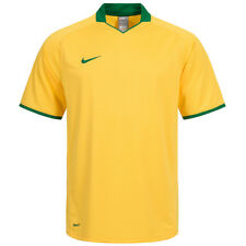 Nike Deportes Hombres Camiseta Drifit BRASIL Touch Juego Jersey 264661-705 S M L