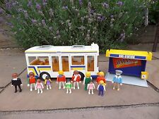 Playmobil 3782 Bus and accessories - Vintage 1988
