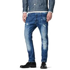 "G-Star Herren Jeans ""3301 Slim Fit"" (51001.6564.1243) Farbe: It aged destroy"