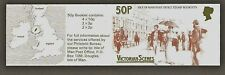 Isle of Man 50p Stamp Booklet 1987 - Victorian Scenes
