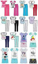 Ladies Character Pyjamas Womens Pj's Nightwear Disney Sleepwear Sizes 8-22