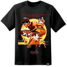 Bruce Lee Classic Game Of Death Movie Poster Style T Shirt (S-3XL) Vintage Retro
