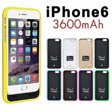 4.7 Zoll 3600mAh Power Bank Externe Backup Akku Hülle Cover Case for iPhone 6 6S
