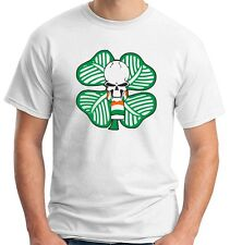 T-shirt TUM0014 ultras celtic green brigate