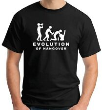 T-shirt BEER0217 Evolution-Of-Hangover-Magliette