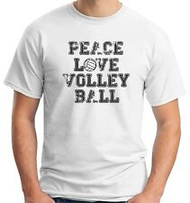 T-shirt OLDENG00208 peace love volleyball