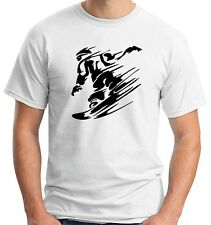T-shirt OLDENG00247 snowboarding