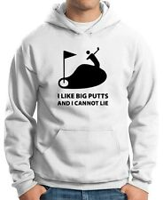 Felpa Hoodie TLOVE0013 i like big putts white