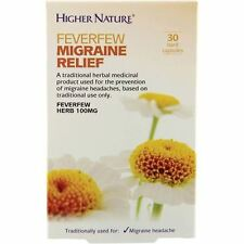 Higher Nature - Feverfew Migraine Relief | 30's - BIG Multipack Savings