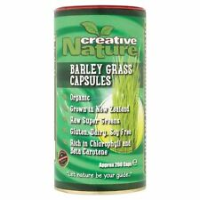 Creative Nature - Organic Barley Grass Capsules | 200's - BIG Multipack Savings