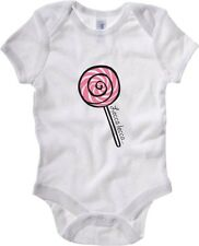 Body neonato T0592 leccalecca fun cool geek