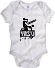 Body neonato T0593 Drinking Team fun cool geek